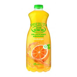 Nectar sin azucar de naranja disfruta don simon pet 1,5l
