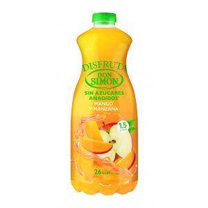 Nectar de sin azucar de mango-manzana don simon 1,5l