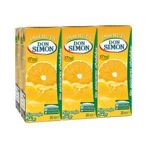 Nectar sin azucar de naranja disfruta don simon p-6 20cl