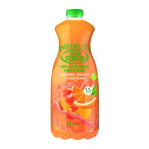 Nectar de sin azucar de naranja-mango don simon 1,5l