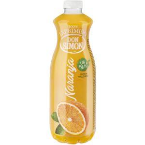 Zumo refrigerado con pulpa de naranja don simon pet 1l