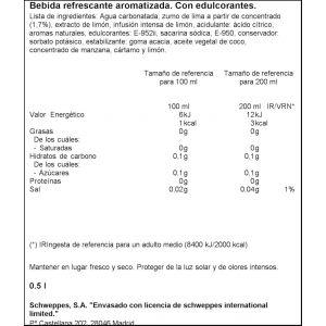 Gaseosa hierbbuena la casera pet 50cl