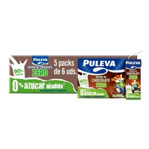 Batido zero chocolate puleva p6x 200ml