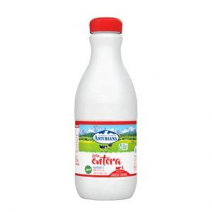 Leche entera asturiana botella 1,5l