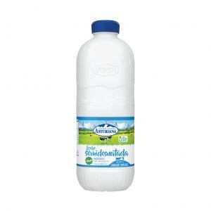 Leche semidesnatada asturiana botella 2,2l