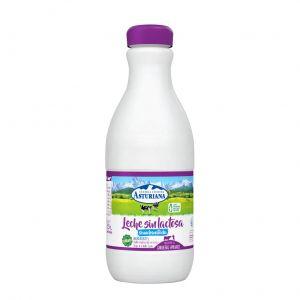 Leche sin lactosa semidesnatada asturiana botella 1,5l