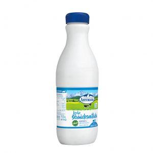 Leche semidesnatada asturiana botella 1,5l
