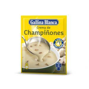 Crema de champiñones gallina blanca 62g
