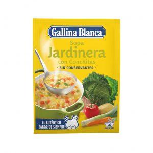Sopa de jardinera gallina blanca 71g