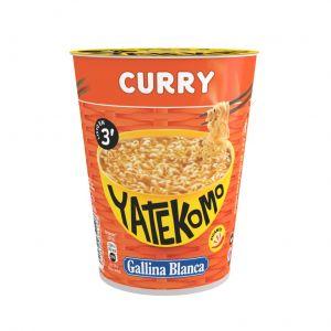 Pasta de curry yatekomo gallina blanca cup 61g