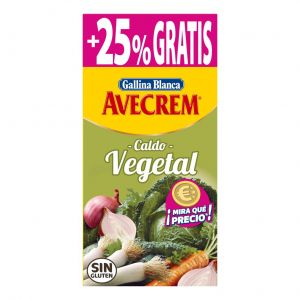 Caldo vegetal avecrem gallina blanca 8 pastillas