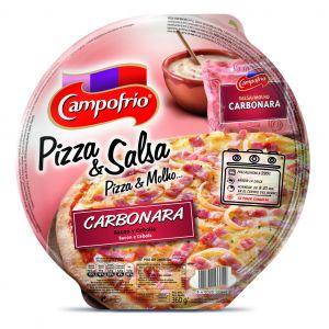 Pizza fresca carbonara campofrio 360g