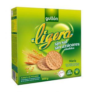 Galleta maria ligera sin azucar y sin sal 600 gr.