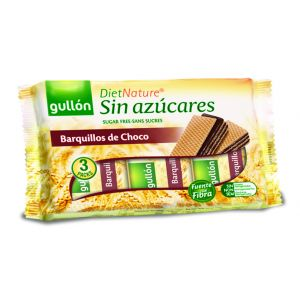 Barquillo chocolate negro sin azucar ifa eliges 210g
