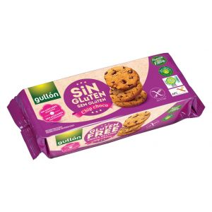 Galleta chips choco sin gluten gullon 130 gr