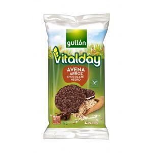 Tortita avena choco negro vitalday 82gr
