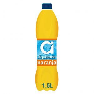 Bebida refrescante  naranja g aquarade pet 1,5l