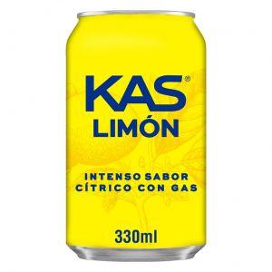 Refresco  limon kas lata sleek 33cl