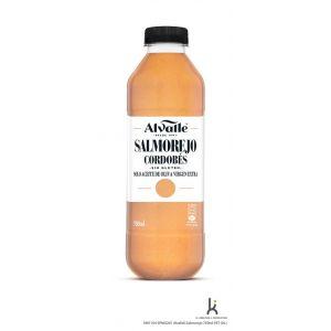 Salmorejo refrigerado s/gluten alvalle pet 750ml