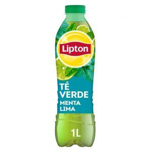 Refresco de té verde a la lima lipton botella 1l
