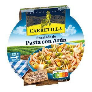 Ensalada pasta c/atun carretilla 240gr