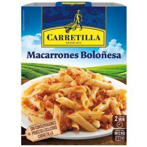 Macarrones boloñesa carretilla 325gr