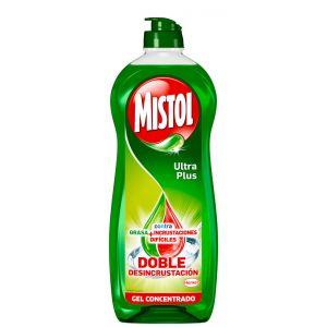 Mistol lavavajillas concentrado ultra plus 620ml
