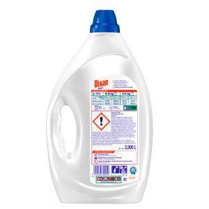 Detergente gel  dixan 48 dosis 3 litros