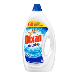Detergente gel dixan 60 dosis 3,72 litros