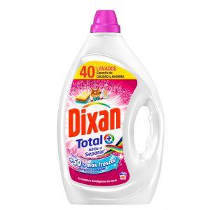Detergente líquido adios separar dixan 40 dosis 2 litros