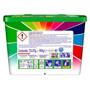Detergente cápsulas dixan 22 dosis