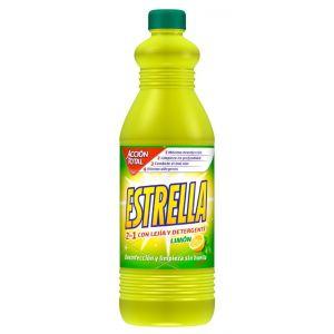 Lejía limón  estrella 1,35l