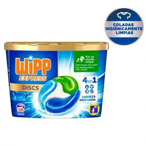 Detergente caps discs wipp 18ds
