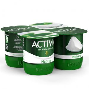 Yogur natural activia p-4x120g