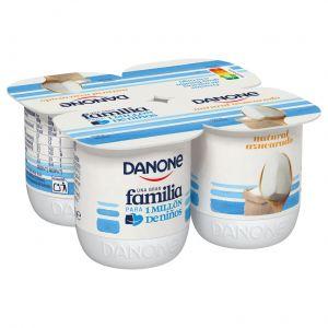 Yogur natural azucarado danone p-4x120g