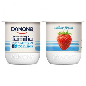 Yogur fresa danone p-4x120g