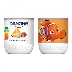 Yogur macedonia danone p-4x120g