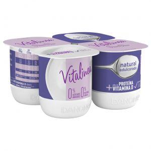 Yogur natural edulcorado vitalinea p-4x120g