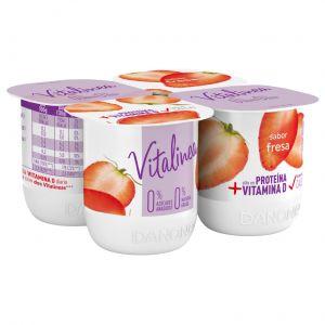 Yogur fresa vitalinea p-4x120g