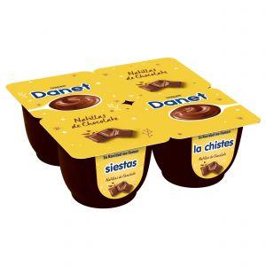 Natillas chocolate danet p4x125g