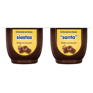 Natillas chocolate danet p4x125g