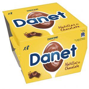 Natillas chocolate danet p8x125g