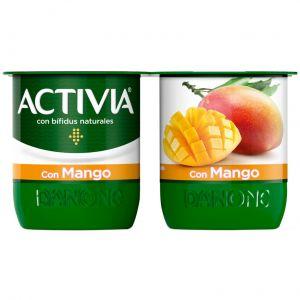 Yogur mango activia p-4x125g