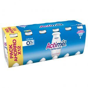 Bebida lactea desnatada 0% actimel p-12x100 g