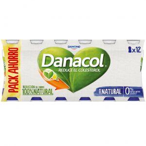 Bebida lactea natural danacol p-12x100g