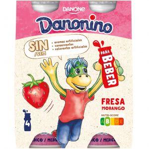 Petit bebedino fresa danonino p4x100g