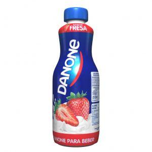 Danone yogur líquido sabor fresa 550g