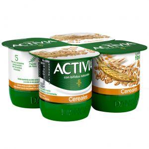 Yogur cerales activia p-4x120g