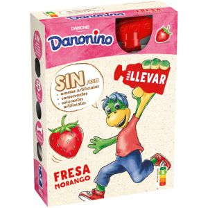 Petit para llevar fresa danonino p4x70g