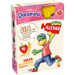 Petit pouch fresa platano danonino p4x70g